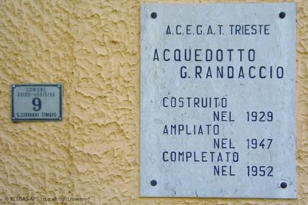 Visita all'Acquedotto Randaccio