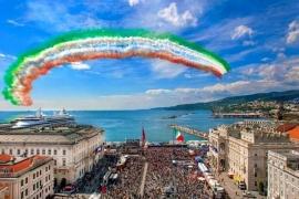 Le Frecce Tricolore a Trieste - Barcolana 2017